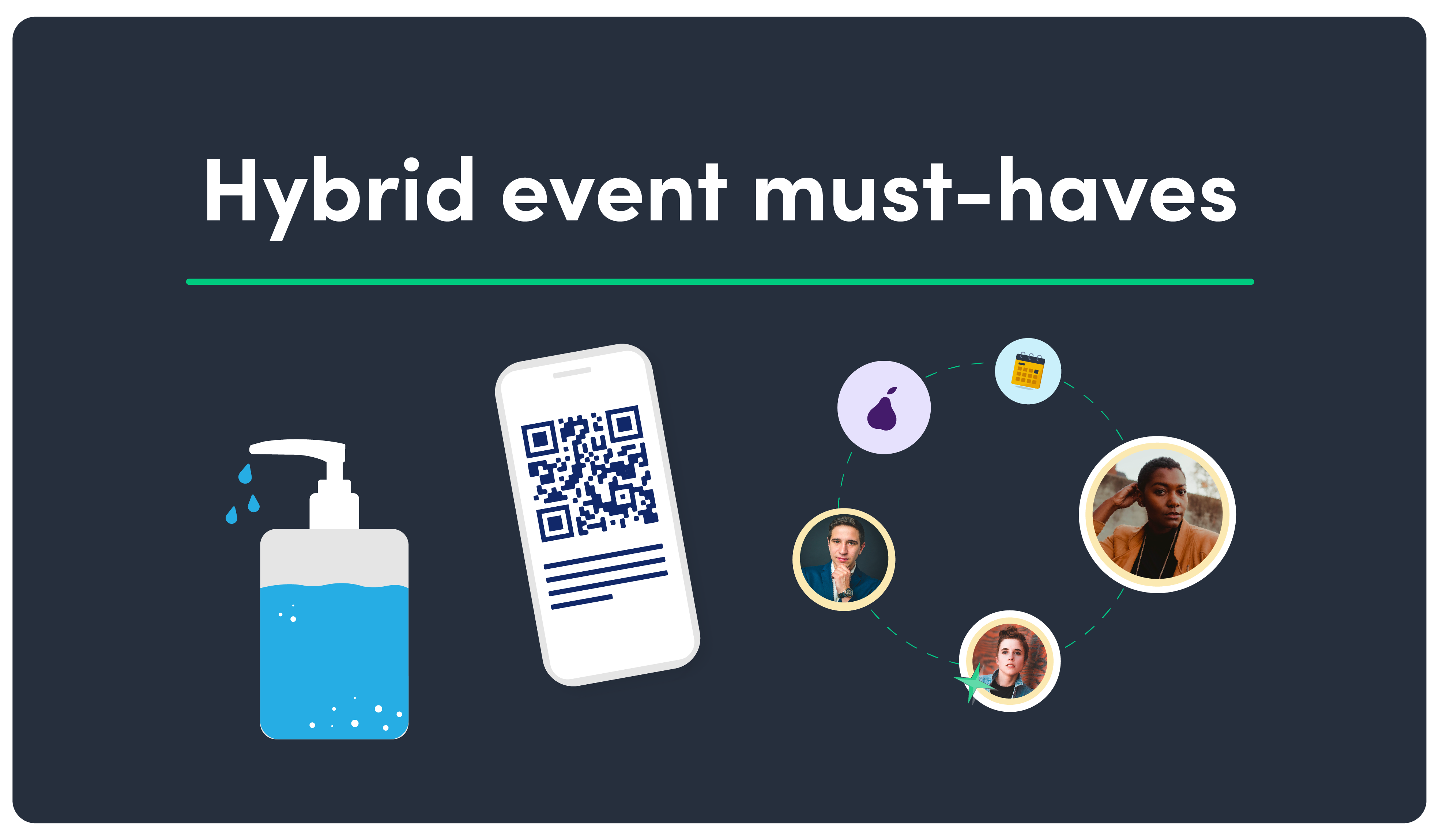 C. Hybrid event must-haves