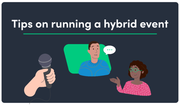 F. Tips on running a hybrid event