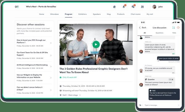 live discussion platform