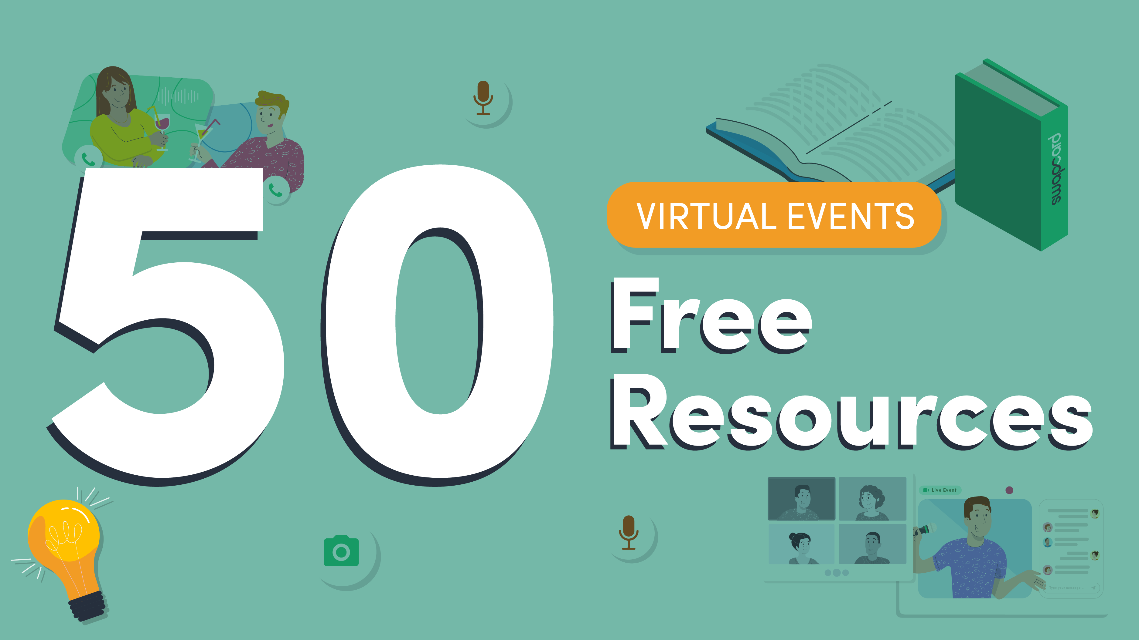 Virtual Events: 50 Free Resources