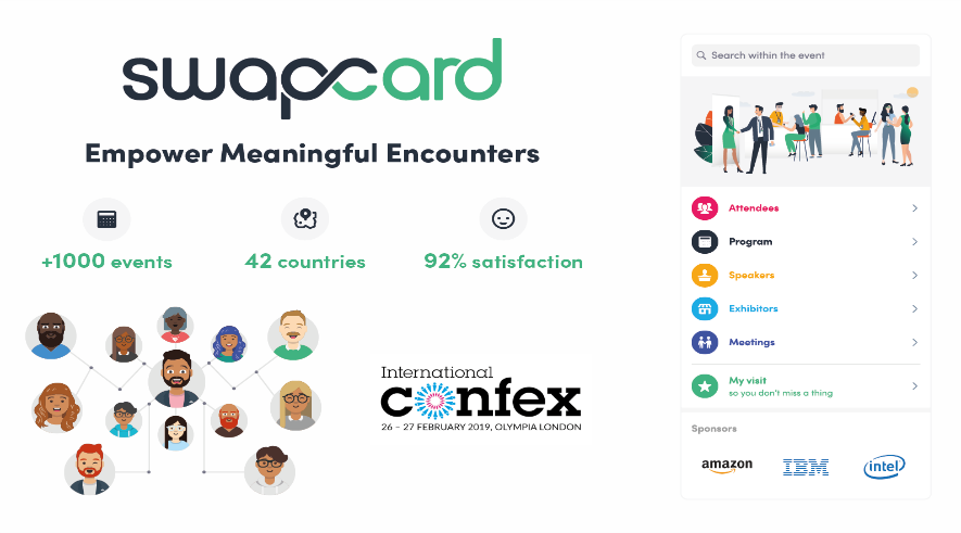 Swapcard Announces its Expansion to the UK Market at Confex